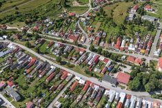 """Obec Nálepkovo 2019 z """" oblakov"""""""